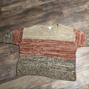 CJ Banks Fall Sequin Sweater